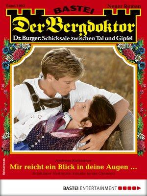 cover image of Der Bergdoktor 1962--Heimatroman