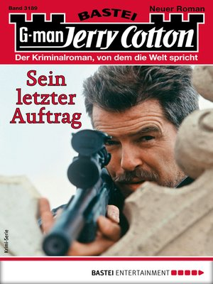cover image of Jerry Cotton 3189--Krimi-Serie