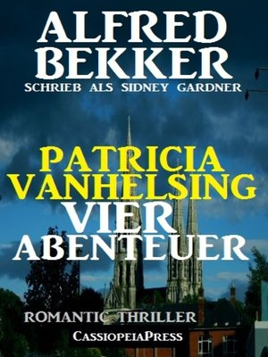 cover image of Patricia Vanhelsing--Vier Abenteuer