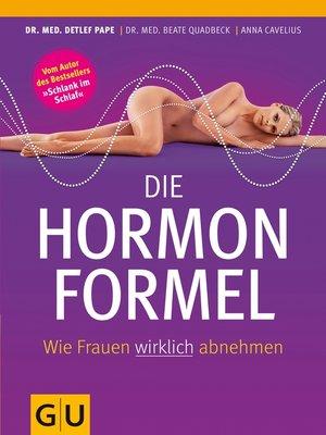 cover image of Die Hormonformel