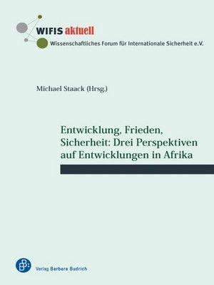 cover image of Entwicklung, Frieden, Sicherheit