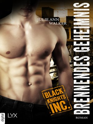 cover image of Black Knights Inc.--Brennendes Geheimnis