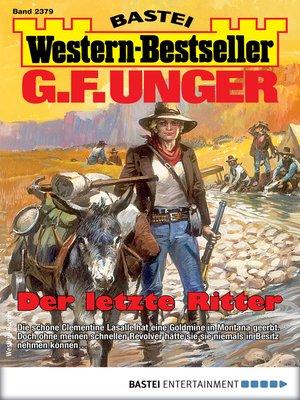 cover image of G. F. Unger Western-Bestseller 2379--Western