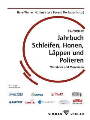 cover image of Jahrbuch Schleifen, Honen, Läppen und Polieren--64. Auflage
