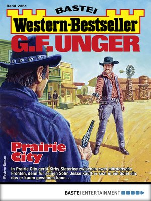 cover image of G. F. Unger Western-Bestseller 2351--Western