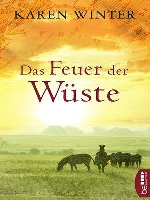 cover image of Das Feuer der Wüste