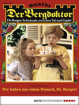 cover image of Der Bergdoktor--Folge 1711