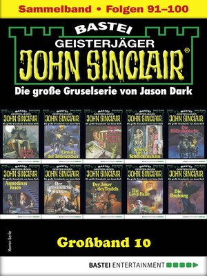 cover image of John Sinclair Großband 10--Horror-Serie