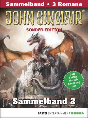 cover image of John Sinclair Sonder-Edition Sammelband 2--Horror-Serie