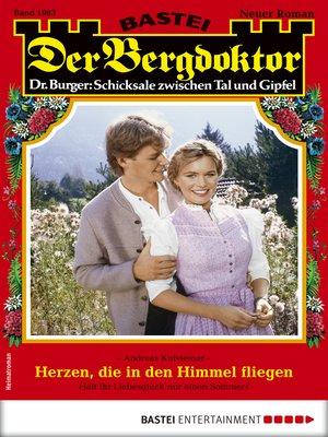 cover image of Der Bergdoktor 1983--Heimatroman