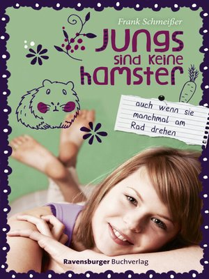 cover image of Jungs sind keine Hamster. Auch wenn sie manchmal am Rad drehen