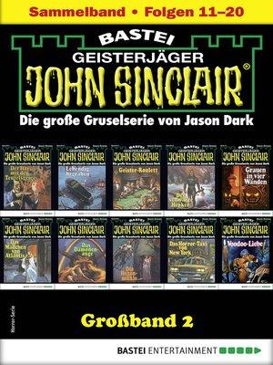 cover image of John Sinclair Großband 2--Horror-Serie