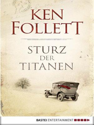 cover image of Sturz der Titanen