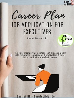 cover image of Career Plan--Job Application for Executives