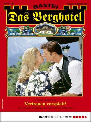 cover image of Das Berghotel 189--Heimatroman