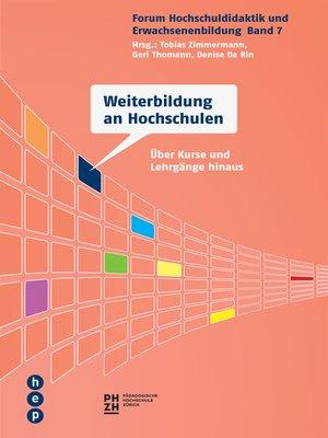 cover image of Weiterbildung an Hochschulen