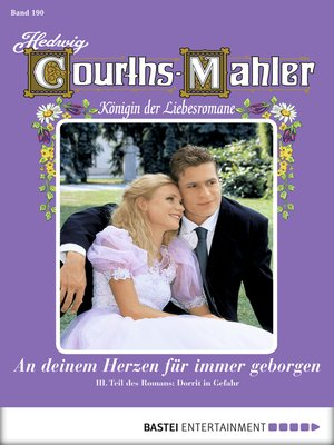 cover image of Hedwig Courths-Mahler--Folge 190
