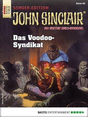 cover image of John Sinclair Sonder-Edition 89--Horror-Serie