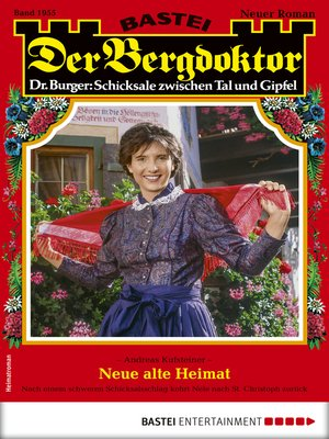 cover image of Der Bergdoktor 1955--Heimatroman