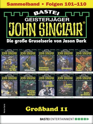 cover image of John Sinclair Großband 11--Horror-Serie
