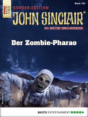 cover image of John Sinclair Sonder-Edition 120--Horror-Serie