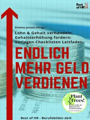 cover image of Endlich mehr Geld verdienen