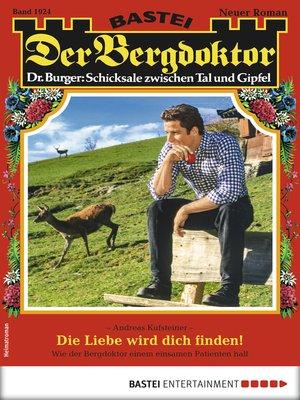 cover image of Der Bergdoktor 1924--Heimatroman