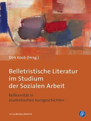 cover image of Belletristische Literatur im Studium der Sozialen Arbeit