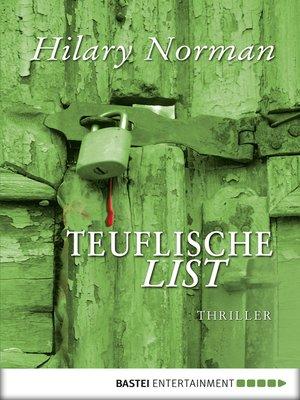 cover image of Teuflische List