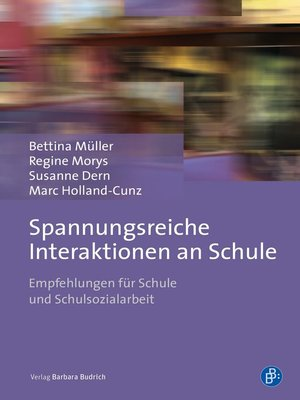cover image of Spannungsreiche Interaktionen an Schule