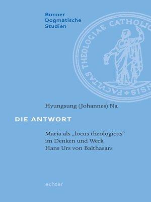 cover image of Die Antwort