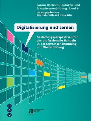 cover image of Digitalisierung und Lernen (E-Book)