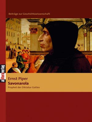 cover image of Savonarola