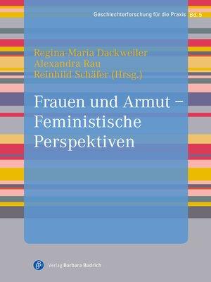cover image of Frauen und Armut--Feministische Perspektiven