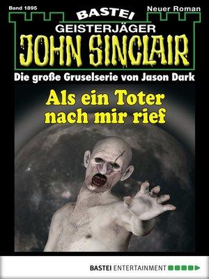 cover image of John Sinclair--Folge 1895