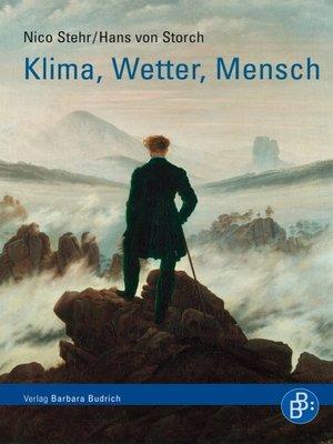 cover image of Klima, Wetter, Mensch
