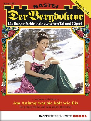 cover image of Der Bergdoktor--Folge 1851