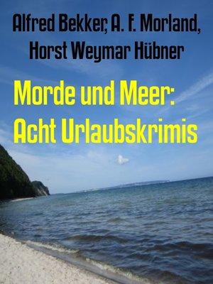 cover image of Morde und Meer