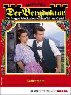 cover image of Der Bergdoktor 1941--Heimatroman