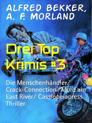 cover image of Drei Top Krimis #3