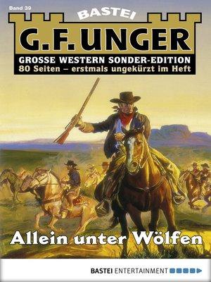 cover image of G. F. Unger Sonder-Edition--Folge 039