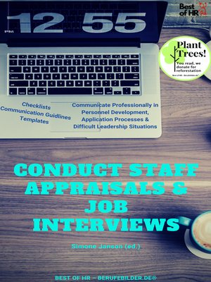 cover image of Conduct Staff Appraisals & Job Interviews