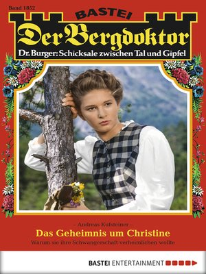 cover image of Der Bergdoktor--Folge 1852