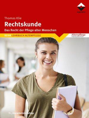 cover image of Rechtskunde