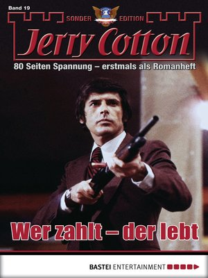 cover image of Jerry Cotton Sonder-Edition--Folge 19