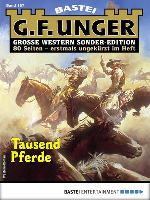 cover image of G. F. Unger Sonder-Edition 187--Western