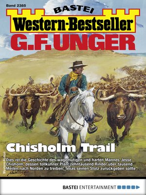 cover image of G. F. Unger Western-Bestseller 2385--Western