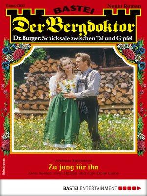 cover image of Der Bergdoktor 2033--Heimatroman