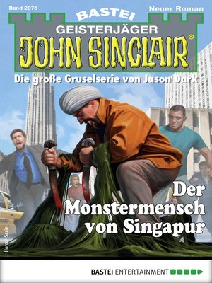 cover image of John Sinclair 2075--Horror-Serie