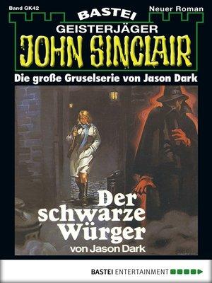 cover image of John Sinclair Gespensterkrimi--Folge 42